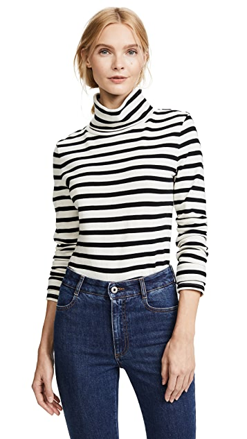 Veronica Beard Jean Audrey Turtleneck Pullover