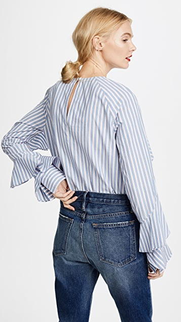 Veronica Beard Jean Mia Blouse