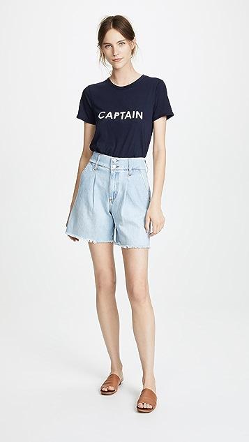 Veronica Beard Jean Captain Lauren Tee