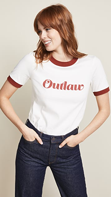 Veronica Beard Jean Mills 'Outlaw' Tee