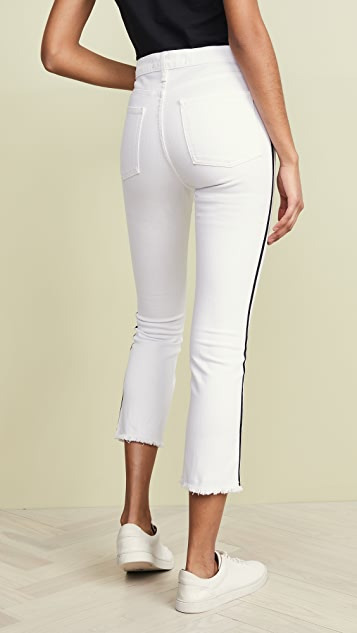 Veronica Beard Jean Carly Kick Flare Jeans