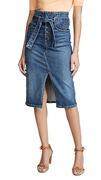 Veronica Beard Jean Denton Corset Skirt
