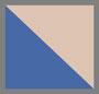 蓝色多条纹