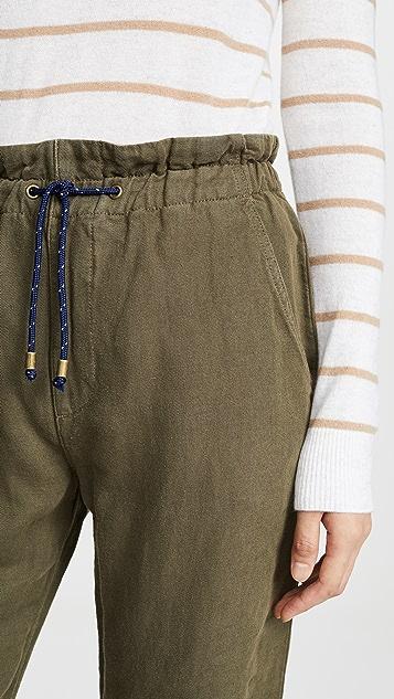 Veronica Beard Jean Jay Drawstring Pants