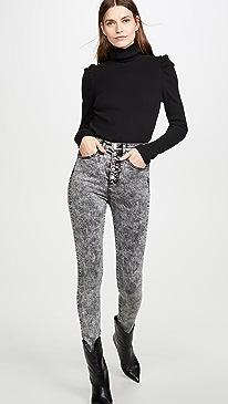 Maera High Rise Skinny Jeans