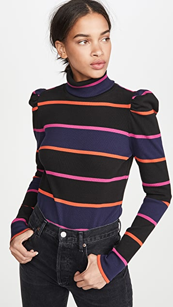 Veronica Beard Jean Cedar Turtleneck