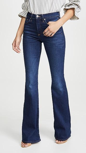 Veronica Beard Jean Beverly 高腰紧身喇叭牛仔裤