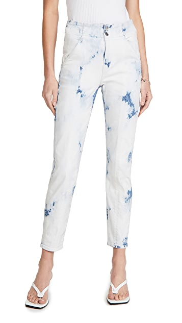 Veronica Beard Jean Kallie High Rise Jeans