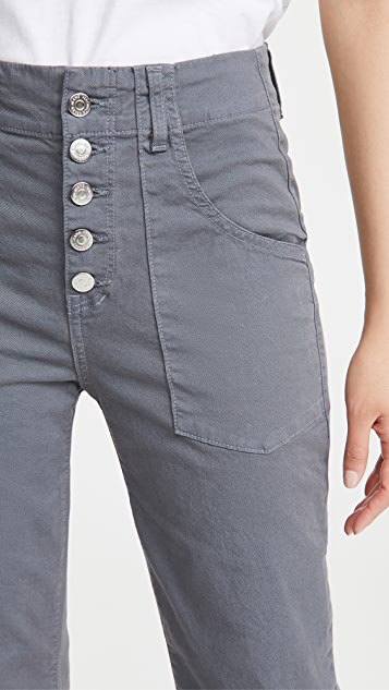 Veronica Beard Jean Arya Cargo Straight Pants