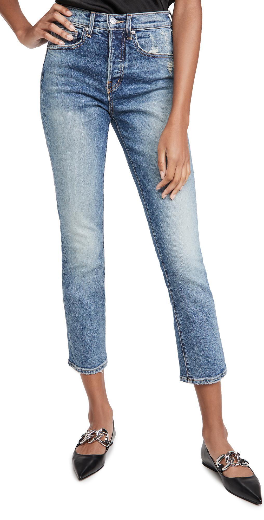Veronica Beard Jean Ryleigh Straight Leg Jeans