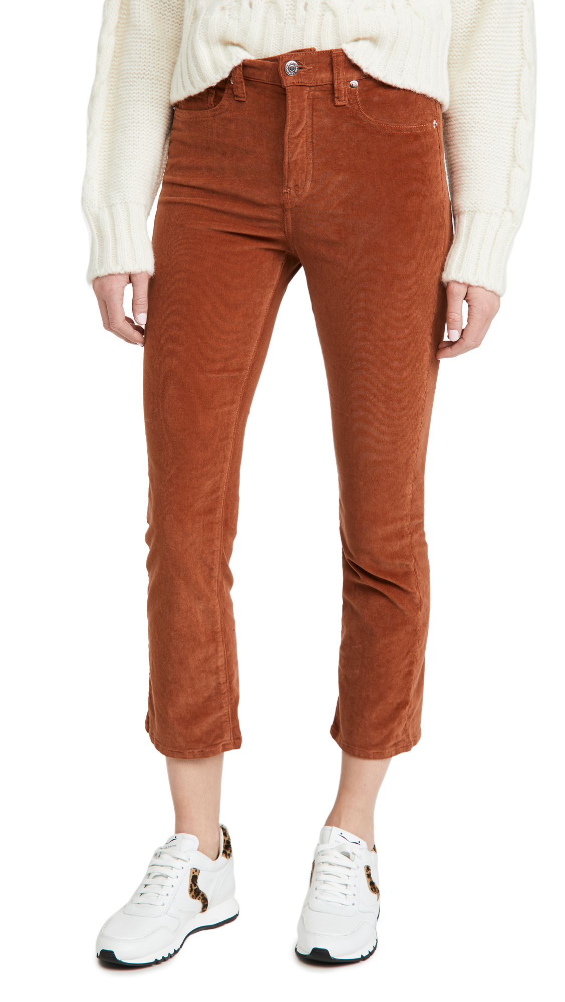 Veronica Beard Jean Carly Kick Flare Corduroy Pants