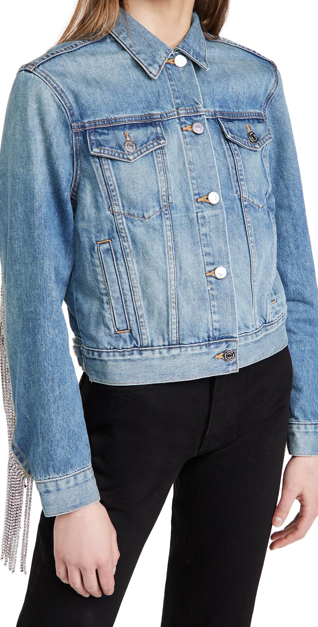 Veronica Beard Jean Kinley Jacket with Rhinestones
