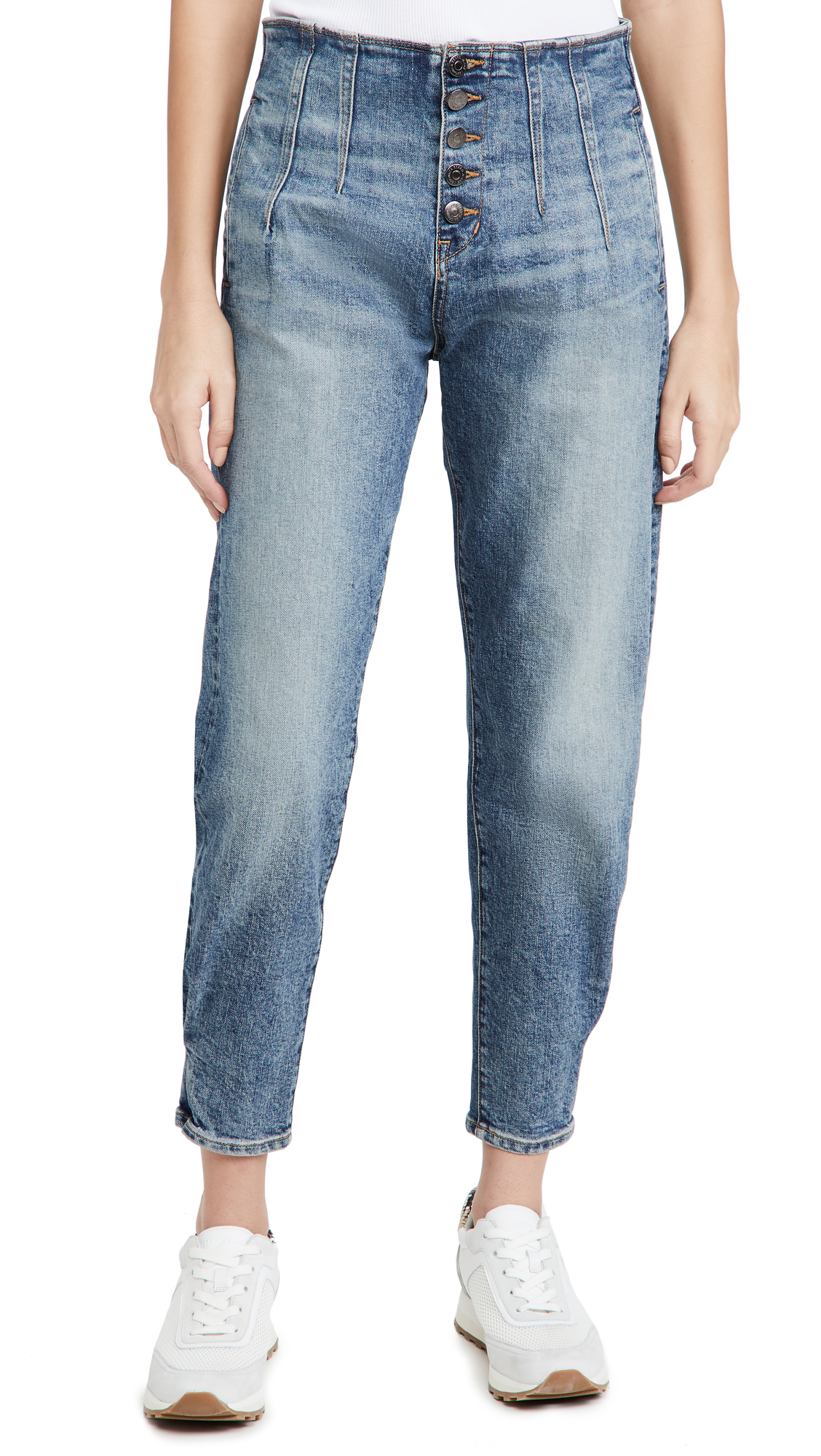 Veronica Beard Jean Nita Pegged Jeans