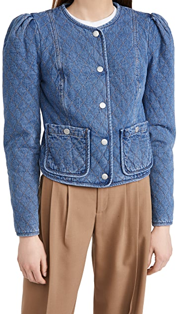 Veronica Beard Jean Camilla Quilted Jacket
