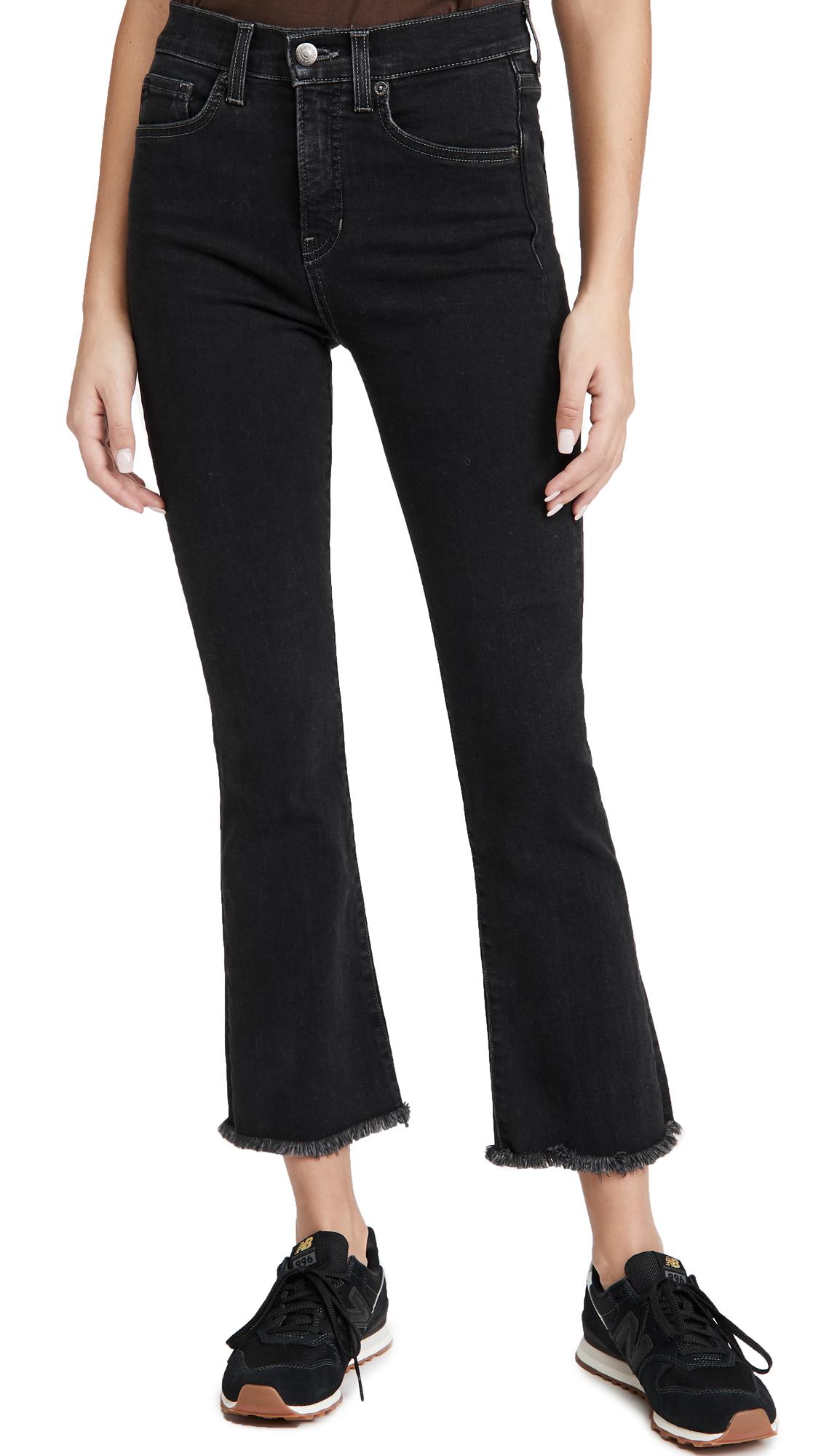 Veronica Beard Jean Carly Kick Flare Jeans