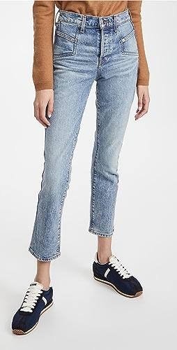 Veronica Beard Jean - Ryleigh 修身直脚牛仔裤
