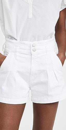 Veronica Beard Jean - Jaylen Notch Shorts