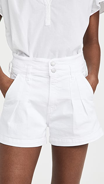 Veronica Beard Jean Jaylen Notch Shorts