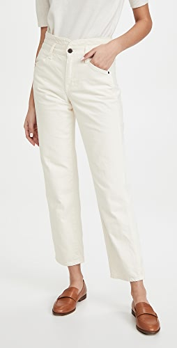 Veronica Beard Jean - Blake Straight with Notch Jeans