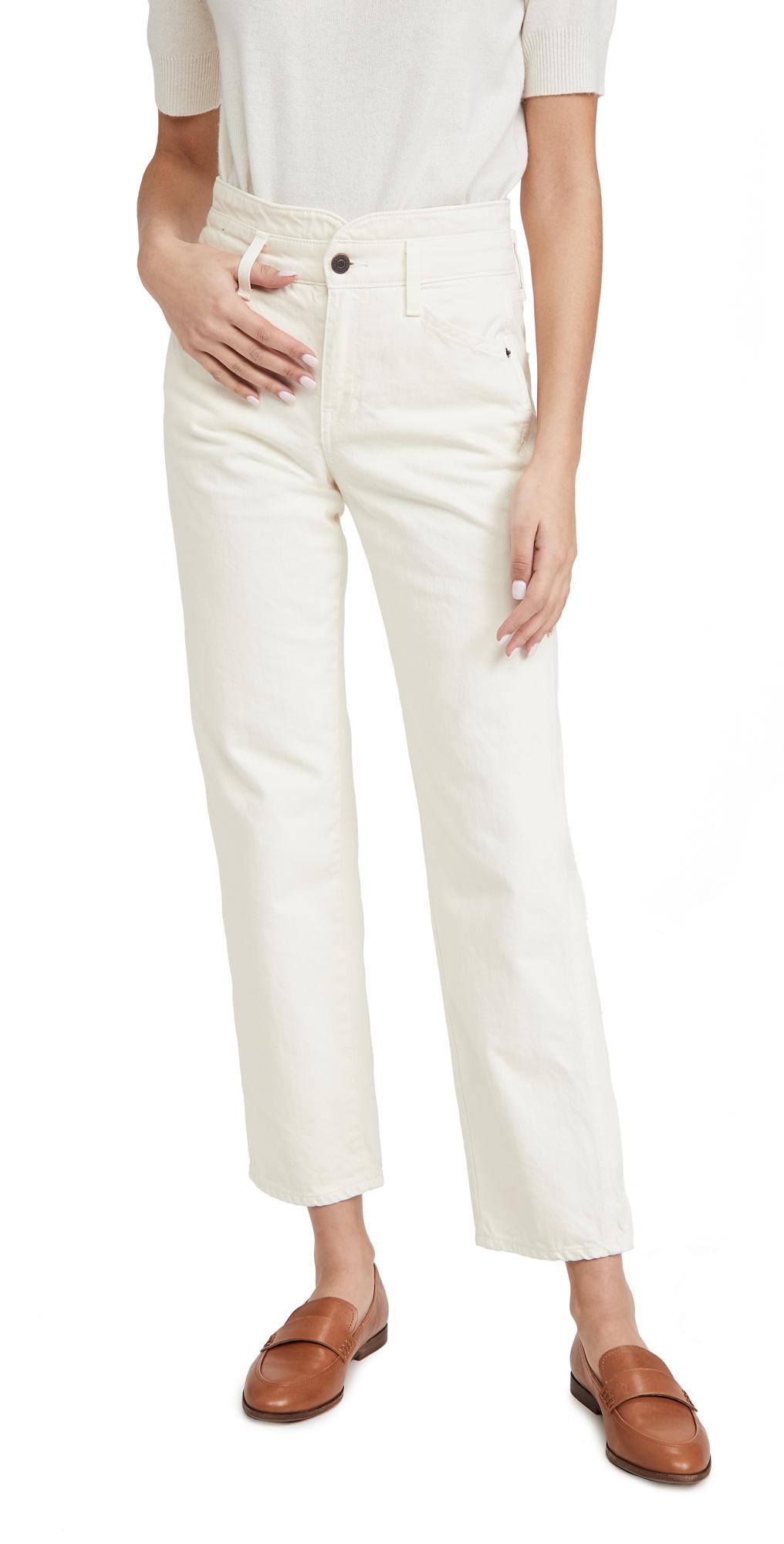 Veronica Beard Jean Blake Straight with Notch Jeans