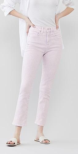 Veronica Beard Jean - Carly 高腰微喇牛仔裤
