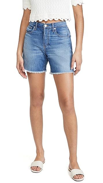 Veronica Beard Jean Shiloh Mid Length Shorts
