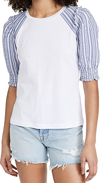 Veronica Beard 牛仔裤 Marcia T 恤