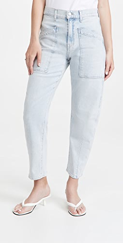 Veronica Beard Jean - Charlie with Patch Pockets