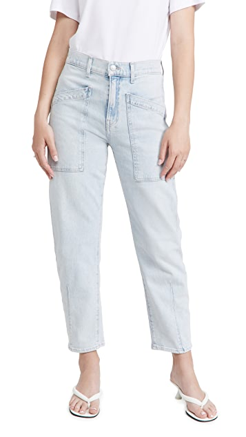 Veronica Beard Jean Charlie with Patch Pockets