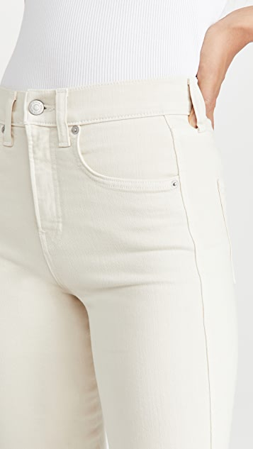 Veronica Beard Jean Carson High Rise Ankle Flare Jeans