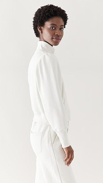 Veronica Beard Jean Siedel 拉链运动衫