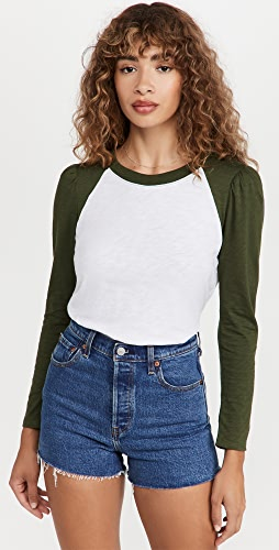 Veronica Beard Jean - Mason 棒球 T 恤
