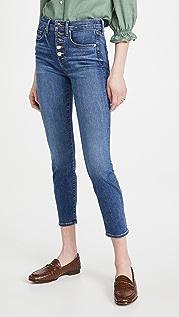 Veronica Beard Jean Debbie 高腰紧身牛仔裤