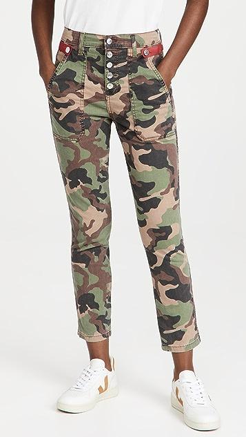 Veronica Beard Jean Arya Straight Leg Pants