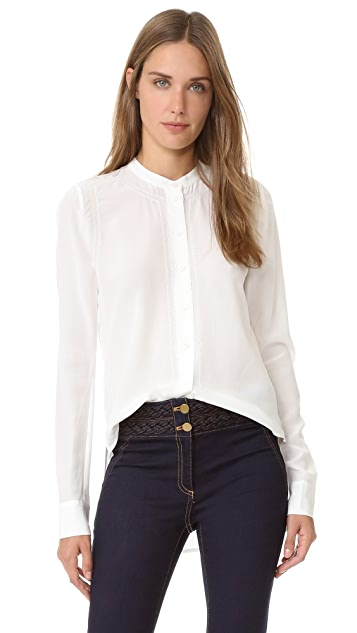Veronica Beard Paz Picot Shirt