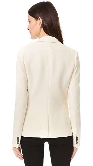Veronica Beard Peninsula Peak Lapel Blazer