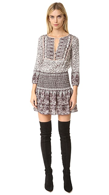 Veronica Beard Makai Printed Boho Dress