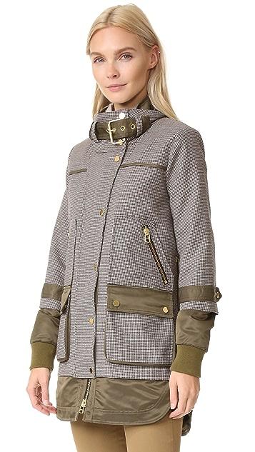 Veronica Beard Freesia Combo Sleeve Jacket