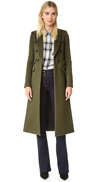 Veronica Beard Voyager Faux Slim Coat