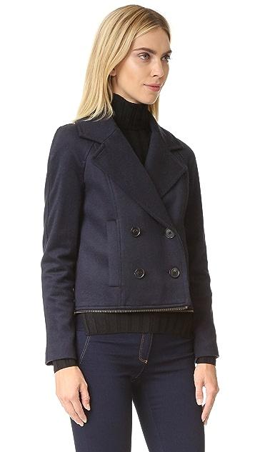 Veronica Beard Antares Convertible Coat