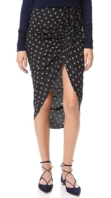 d6c80236b5a9 Veronica Beard Ari Ruched Drawstring Skirt | SHOPBOP