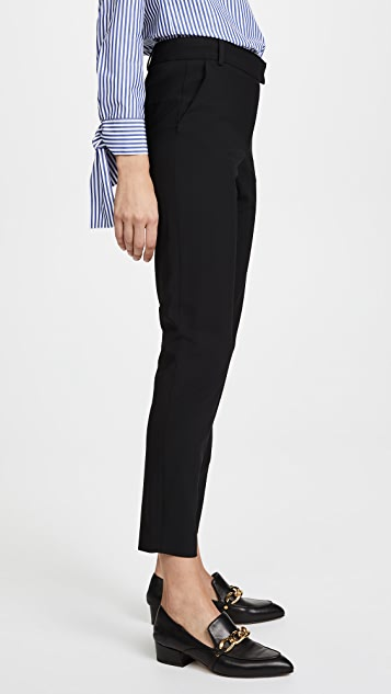 Veronica Beard Slim Cigarette Pants