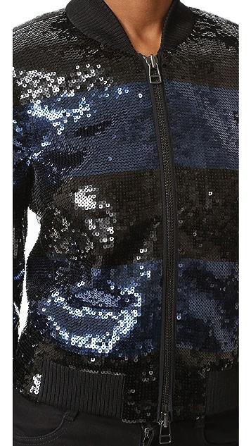 Veronica Beard Lexington Bomber Jacket