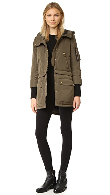Veronica Beard East End Parka Puffer Coat