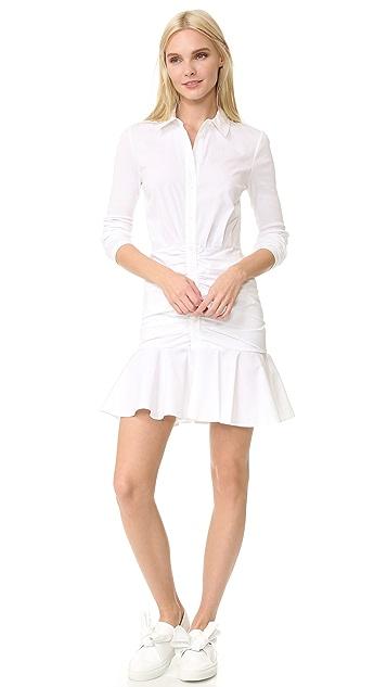 Veronica Beard Century Baby Rib Short Dress