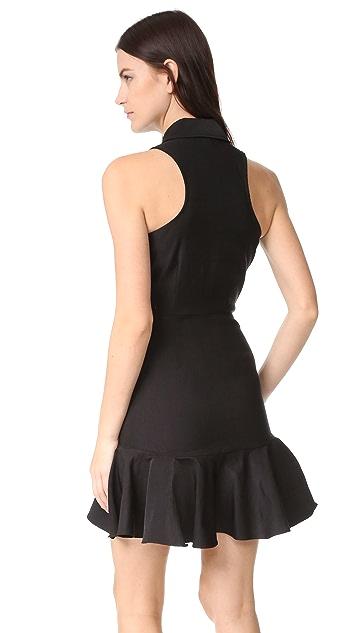Veronica Beard Charlie Flounce Skirt Dress