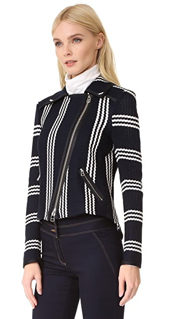 Veronica Beard Bailey Moto Jacket