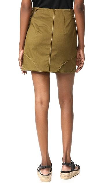 Veronica Beard Linda Summer Cargo Skirt