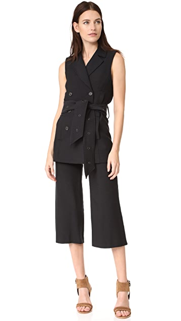 Veronica Beard Coastal Sailor Gaucho Pants
