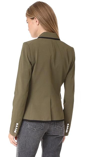 Veronica Beard William Cutaway Dickey Jacket